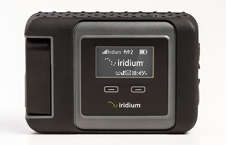 Iridium Go! close-up