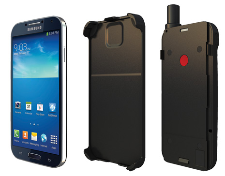Thuraya satellite sleeve for android