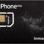 Inmarsat Prepaid Rate plan card
