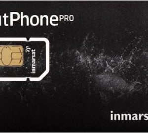 Inmarsat Prepaid Rate plan card